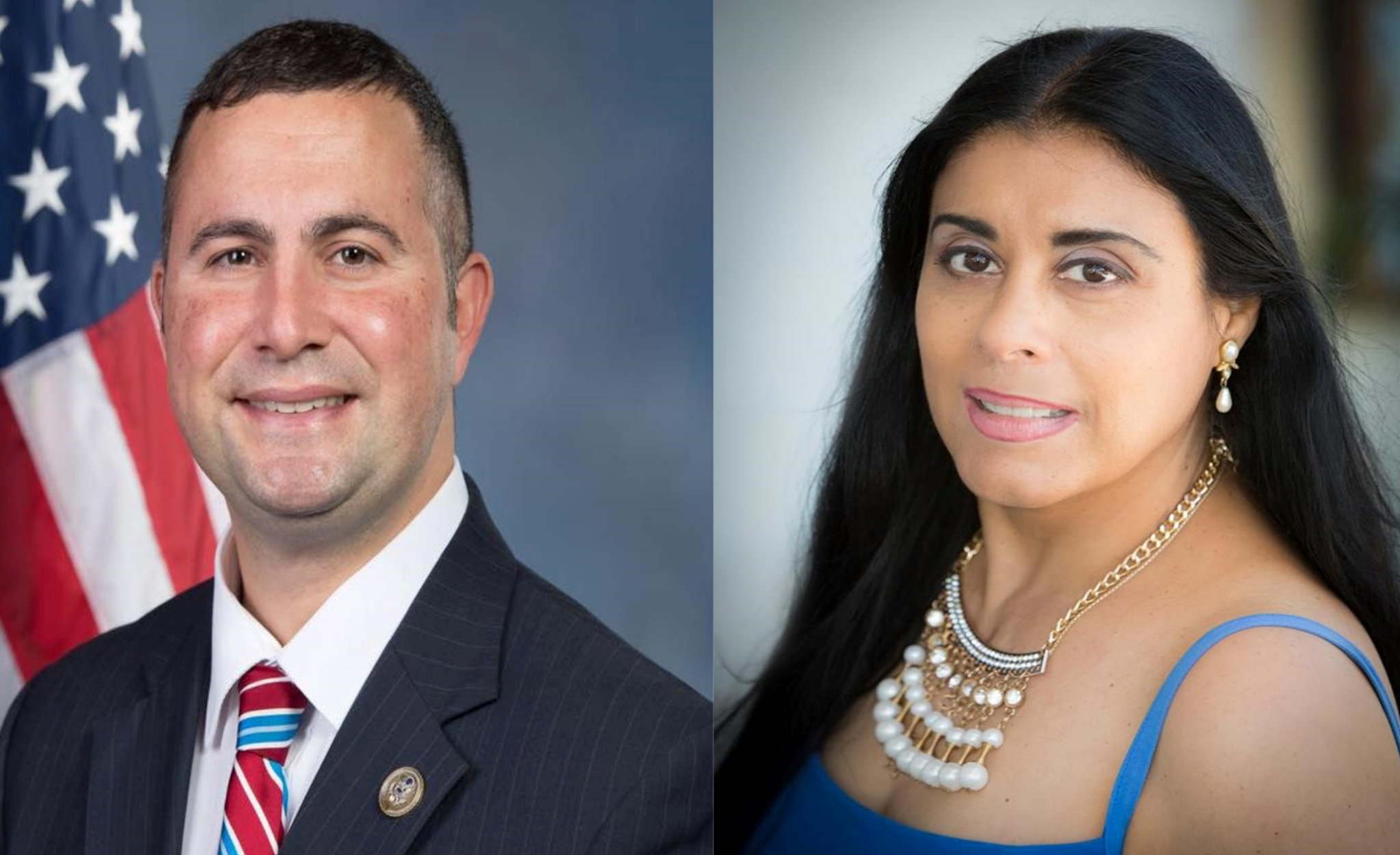 Congressman Darren Soto (D-09, left) has endorsed Supervisor Daisy Morales for Florida House District 48. Photos used with permission.