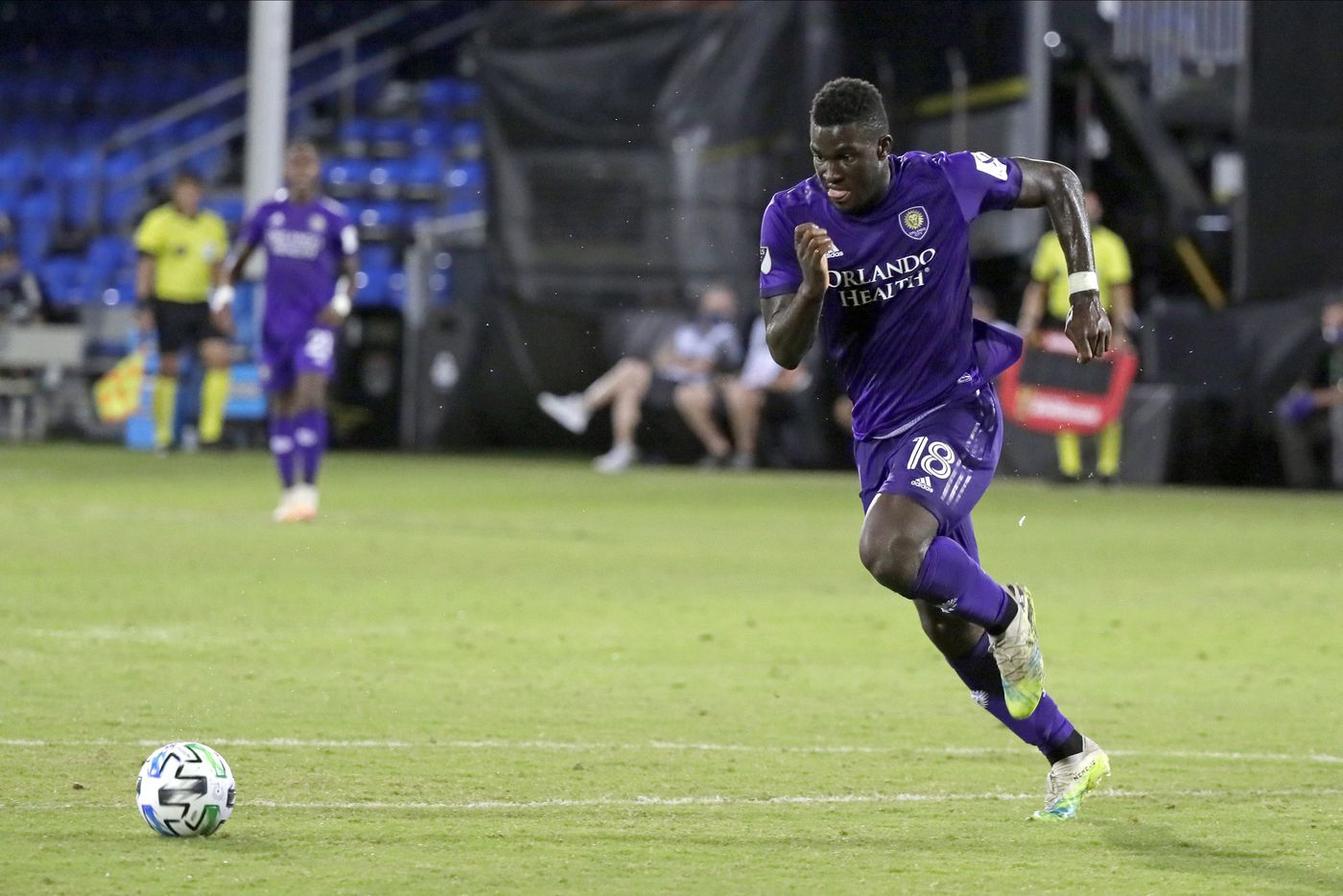 Orlando City SC forward Daryl Dike. Photo: Orlando Sentinel.