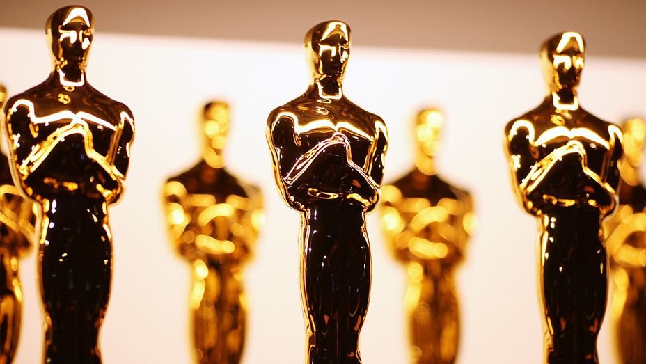 Oscar statuettes. Photo: Getty Images.