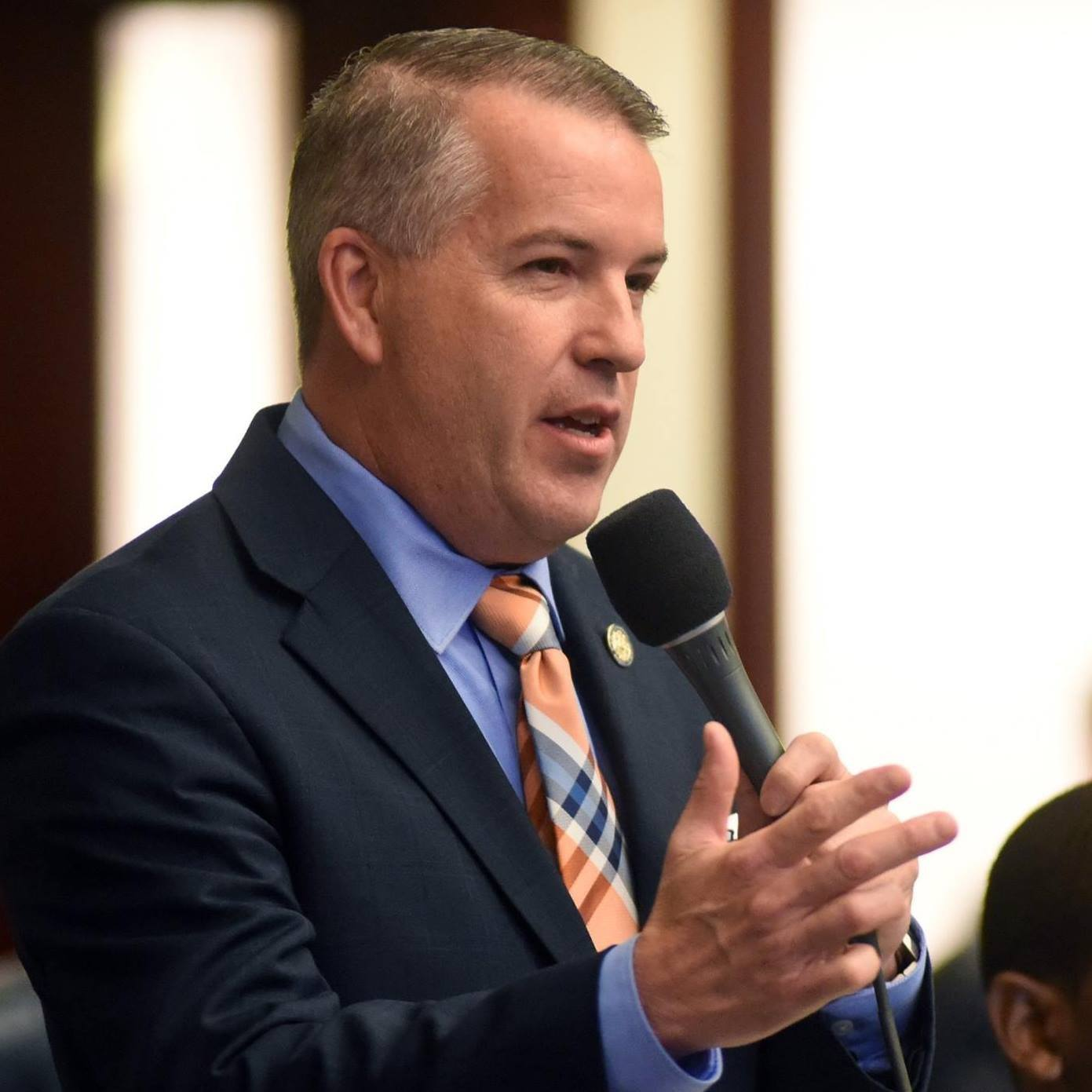 State Rep. Matt Willhite speaks in the Florida State legislature in Tallahassee. Photo courtesy of Florida Politics.