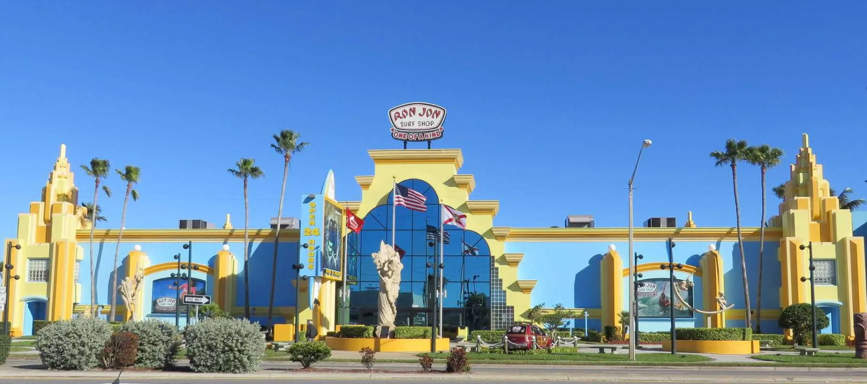 Ron Jon Surf Shop at Disney Springs. Photo: Disney.
