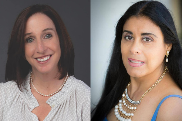 (l-r): State Reps. Robin Bartleman (D-Weston) and Daisy Morales (D-Orlando) delivered written statements on President Joe Biden's executive order granting TPS to Venezuelans in the U.S. Monday. Photos: Florida House of Representatives and Frank Weber (respectively).