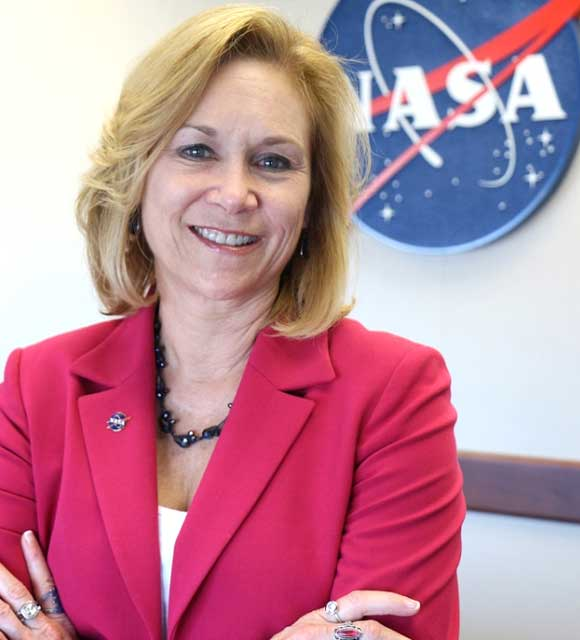 Kennedy Space Center Deputy Director Janet Petro was inducted into the 2018 Florida Women's Hall of Fame. Petro was one of three women selected by former Florida Governor Rick Scott to receive this honor. Photo: NASA.
