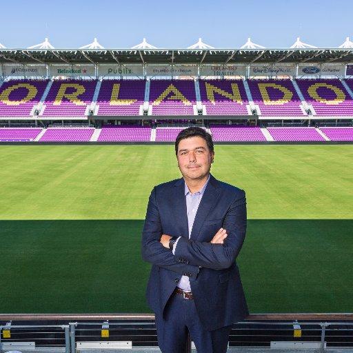 Alex Leitão resigned as Orlando City SC CEO, but will remain on as a temporary advisor for Club's soccer operations. Photo: Twitter (@alexleitao).