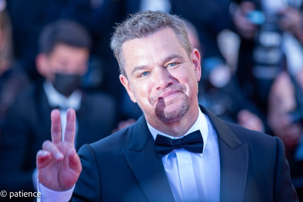 """Matt Damon attends the red carpet premiere of """"Stillwater"""" at the 74th Cannes Film Festival. Photo: Patience Eding/Another Concept for Florida National News."""