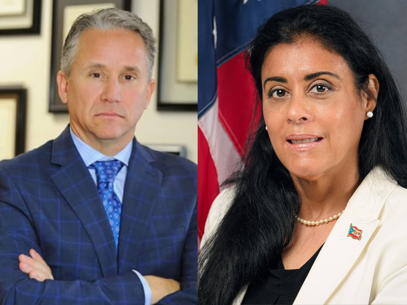 Florida State Reps. Michael Gottlieb (D-Broward) and Daisy Morales (D-Orlando) have filed a bill increasing property tax exemptions for the widowed and disabled Monday, July 19, 2021. Photos: Rep. Gottlieb via Florida Politics; Rep. Morales: Florida House of Representatives.