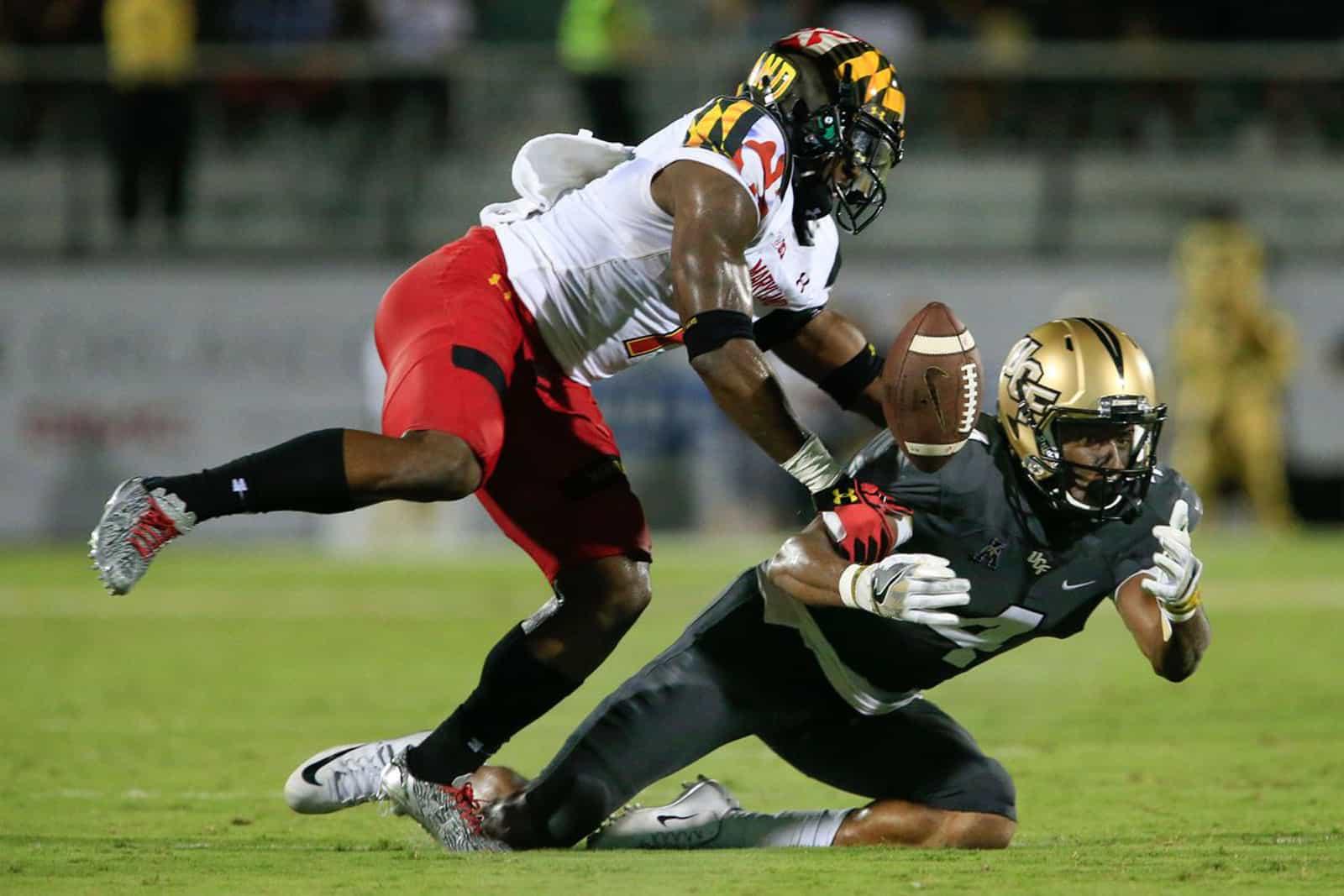 UCF vs. Maryland. Photo: Reinhold Matay/USA TODAY Sports.