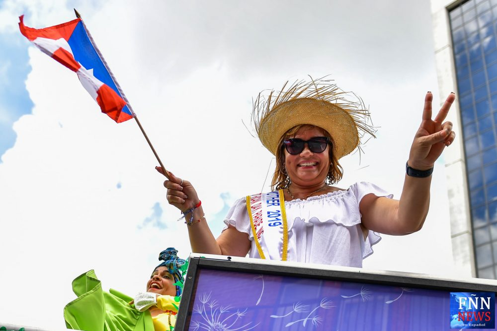 Orange County Commissioner Maribel Gomez Cordero poses for a photo during the Florida Puerto Rican Parade in downtown Orlando Saturday, September 18, 2021. Photo: Harry Castiblanco/Florida National News.