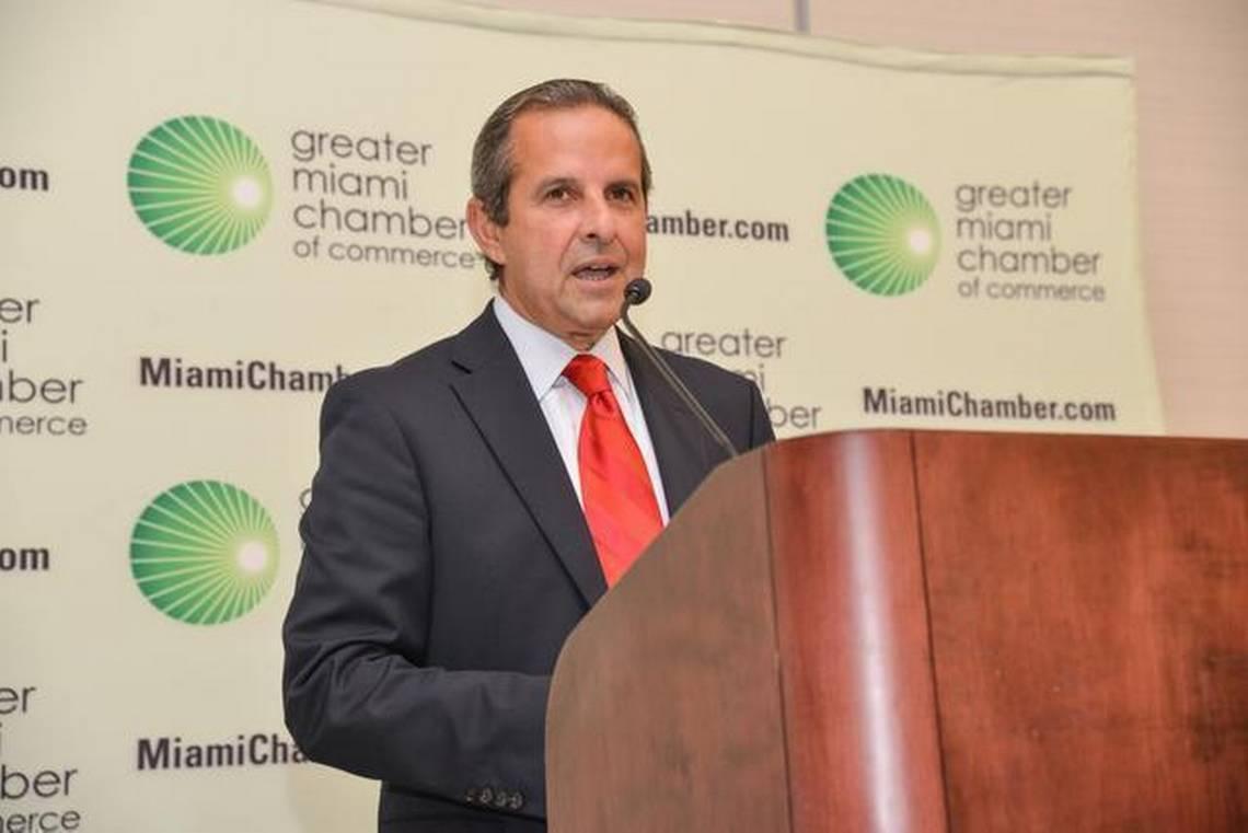 Florida Democratic Party Chair Manny Diaz. Photo via Miami Herald.